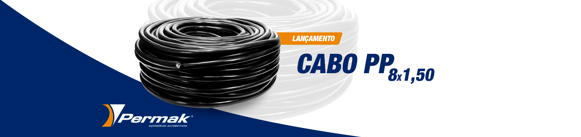 Cabo PP 8x1,50